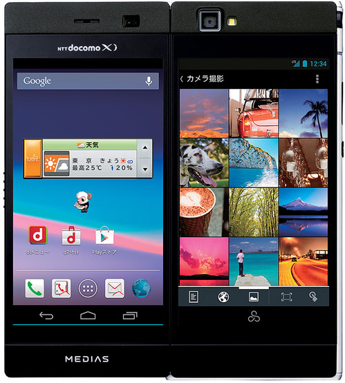 Điện thoại màn hình đôi Medias W
