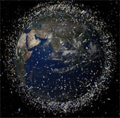 Nguy cơ thiên thạch và rác thải vũ trụ đe dọa Trái Đất