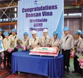 Người Việt đoạt giải Nhất sáng tạo kỹ thuật Doosan