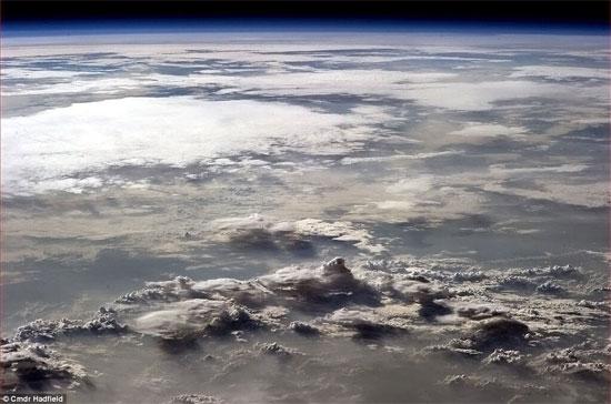 Vẻ đẹp khác lạ của Trái đất nhìn từ vũ trụ