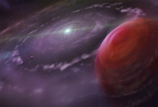 Hành tinh HR 8799c khá xa ngôi sao riêng nên các nhà thiên  văn có thể quan sát nó dễ dàng.