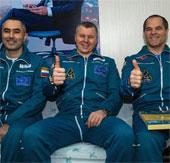Đội bay quốc tế thứ 34 từ ISS về Trái Đất an toàn