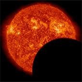 Hình ảnh nhật thực từ vũ trụ