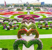 UAE khai trương vườn hoa lớn nhất thế giới