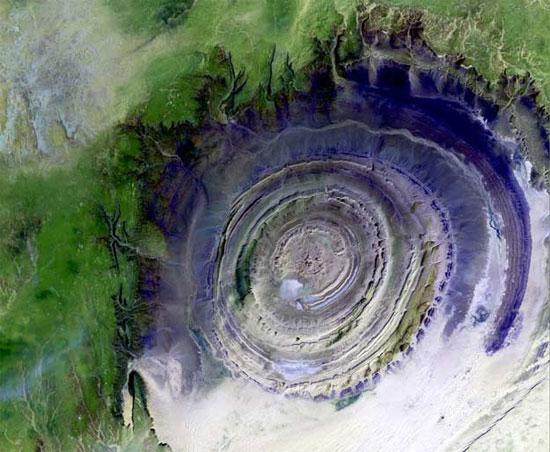 Kalb ar-Rishat - mắt Sahara
