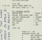 Bán những tờ giấy trong chuyến bay lên mặt trăng