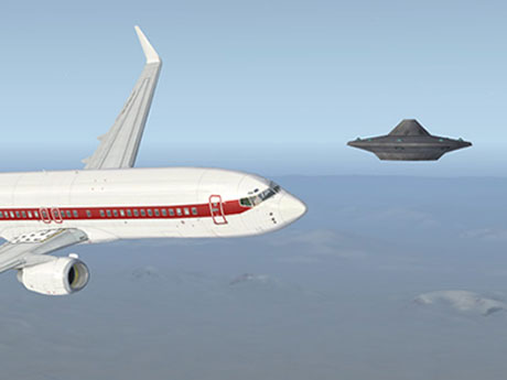 Ufo bay trên phi cơ tại Canada