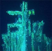 Trục vớt động cơ phi thuyền Apollo dưới đáy đại dương