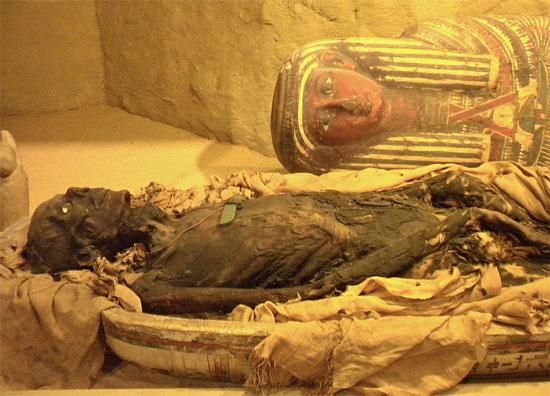 Người Ai Cập cổ đại không dùng dầu tuyết tùng để bỏ ruột và để nguyên tim trong lồng ngực xác ướp.