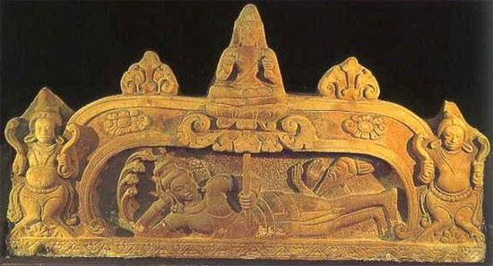 Đản sinh Brahma được lưu giữ tại bảo tàng Chăm Đà Nẵng chuẩn bị lên đường sang Mỹ.