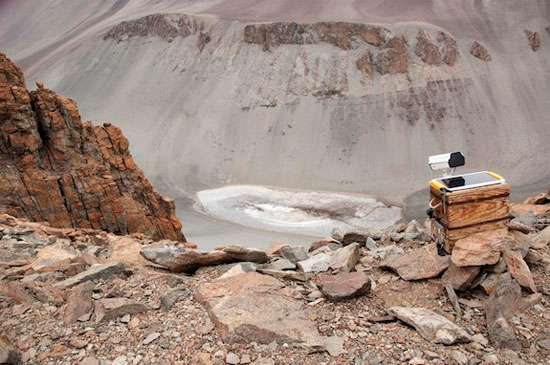 Nước trên sao Hỏa tồn tại giống như tại hồ Don Juan?