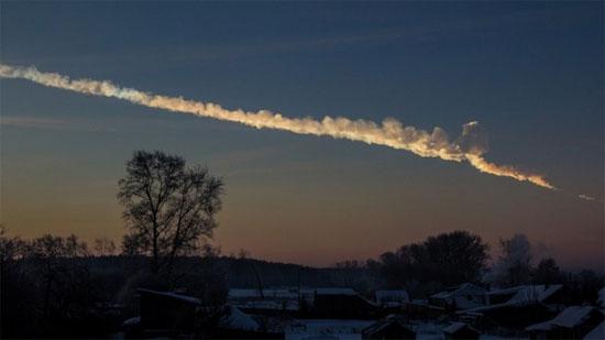 Mảnh vỡ thiên thạch tại Nga có thể lên tới hàng tấn với kích thước vài mét.