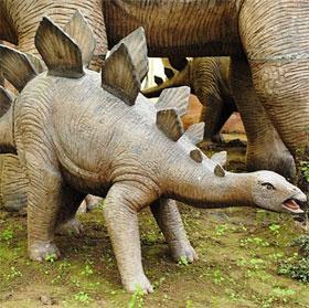 Ly kỳ chuyện giao phối của loài khủng long lưng gai