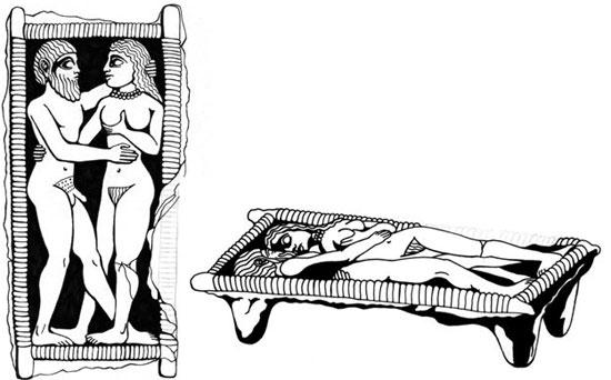 """Mại dâm """"dâng hiến"""" hay mại dâm tôn giáo bắt nguồn từ nền văn minh Lưỡng Hà."""