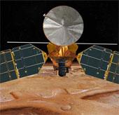 Nghiên cứu sao Hỏa tạm ngưng vào tháng tư vì mặt trời