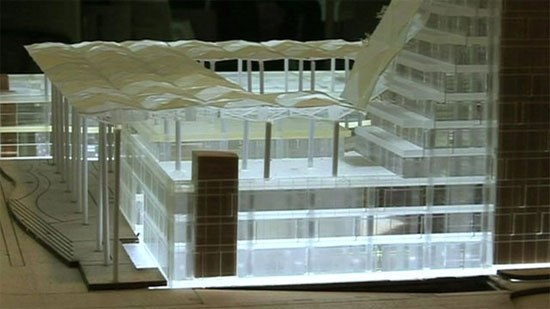 Mô hình nhà máy xử lý rác thải điện tử - một dự án xây dựng mới của Miniwiz.