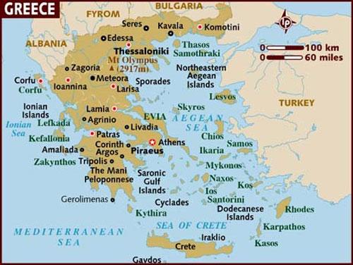 Hy Lạp bị rung chuyển vì động đất 6,2 độ Richter