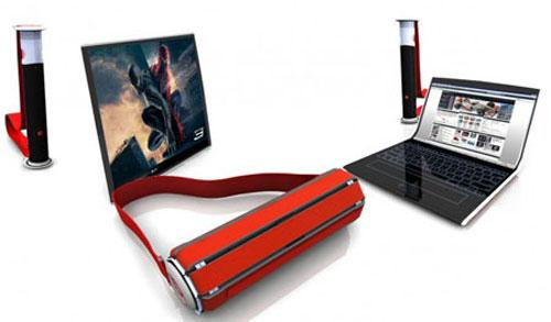 """Laptop concept có thể """"cuộn"""" lại"""