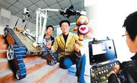 Trung Quốc phát triển robot phát hiện phóng xạ
