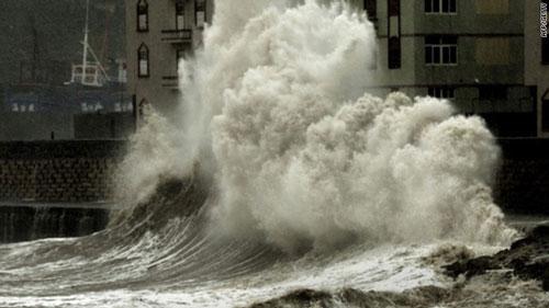 Siêu sóng biển xuất hiện ngày càng nhiều