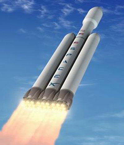 Tên lửa mạnh nhất trong lịch sử ra mắt