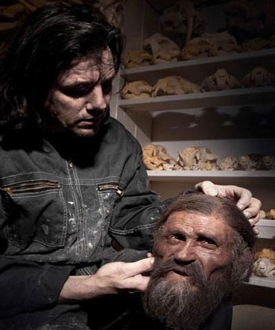 Gương mặt mới của xác ướp băng 5.300 tuổi
