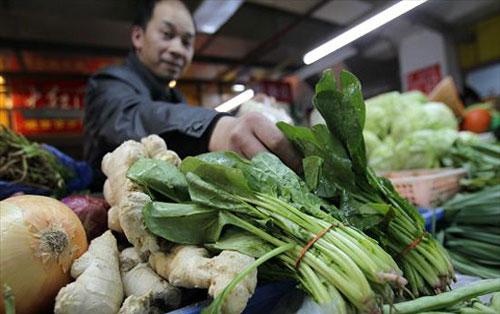 Rau Trung Quốc bị nhiễm xạ