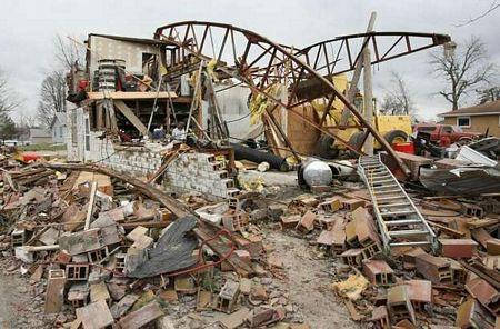 Mỹ: Lốc xoáy tàn phá một nửa thị trấn