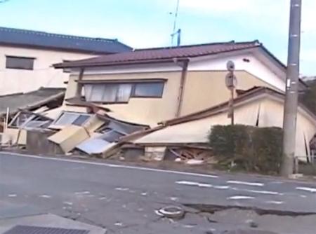 Động đất lại xảy ra ở Nhật, 6 người chết