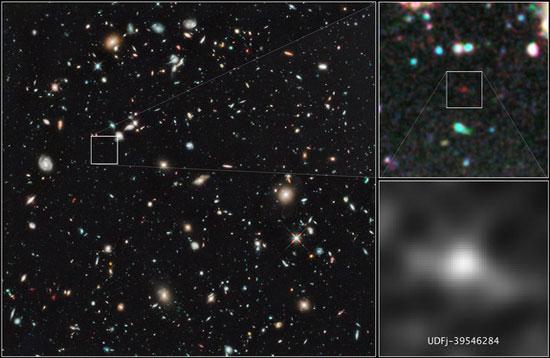 Thiên hà cổ nhất hình thành từ 13,55 tỷ năm trước