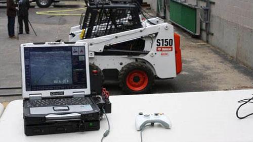 Điều khiển robot khắc phục sự cố hạt nhân như chơi game.