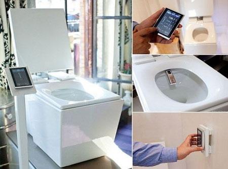 Toilet công nghệ cao, giá 6.300 USD