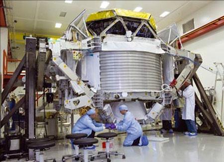 Máy đếm hạt lên Trạm không gian quốc tế