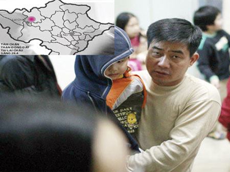 Việt Nam: 4 ngày, 10 trận động đất, đới đứt gãy hoạt động tích cực