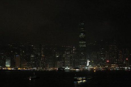 Cảng Victoria tại Hong Kong.