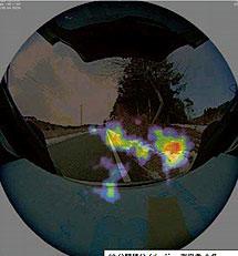 """Camera """"đo"""" mức độ nhiễm phóng xạ"""