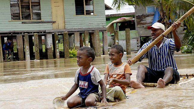 Quốc đảo Fiji công bố tình trạng khẩn cấp vì lũ lụt