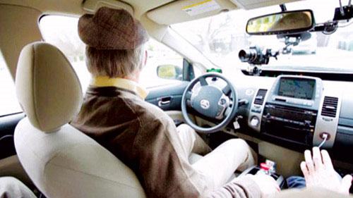 Người mù lái xe hơi