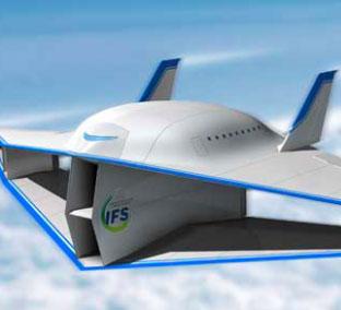 Máy bay 2 tầng trong tương lai được thiết kế loại bỏ tiếng nổ âm