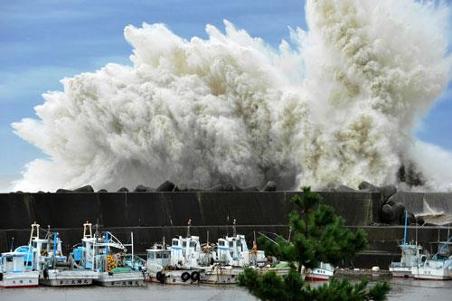 Viễn cảnh siêu sóng thần ở Nhật Bản