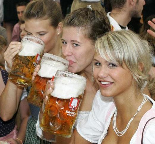 Sexy hơn nhờ... bia