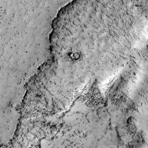 Phát hiện... đầu voi trên sao Hỏa