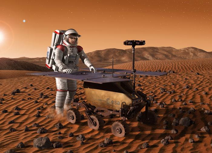 Nga, châu Âu hợp tác phóng tàu thăm dò Sao Hỏa