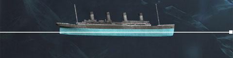0h30 ngày 15/4/1912, thuyền trưởng Edward J. Smith ra lệnh hạ các tàu cứu hộ để sơ tán hành khách cũng như thủy thủ đoàn. 10 phút sau khi lệnh được đưa ra, chiếc tàu cứu hộ đầu tiên được thả xuống biển. Trẻ em và phụ nữ được ưu tiên sơ tán trước. Mặc dù các tàu cứu hộ trên tàu Titanic có thể mang được tới 1.000 người, nhưng rất nhiều tàu nhỏ được thả xuống biển chỉ chứa được khoảng một nửa số người cho phép.
