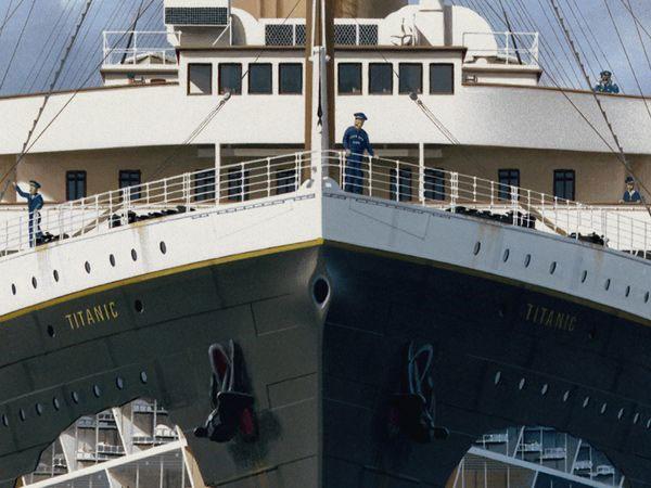 Khám phá nội thất tàu Titanic