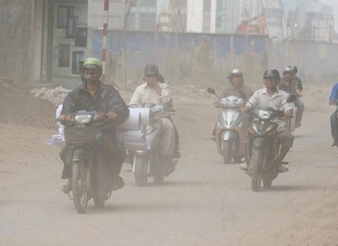 Hà Nội tìm cách giảm ô nhiễm không khí