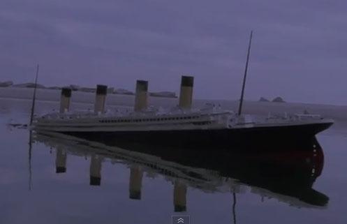 Video: Mô phỏng diễn biến gặp nạn của tàu Titanic