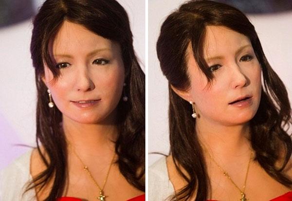 Geminoid F - nữ robot đầu tiên giống con người nhất