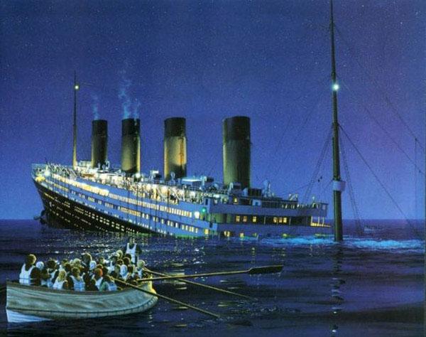 Phụ nữ thường gặp bất lợi khi đắm tàu