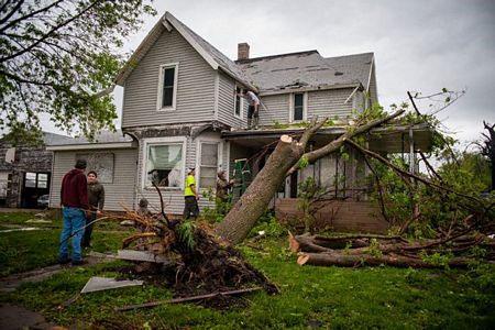 5 người chết do lốc xoáy kinh hoàng tại Mỹ